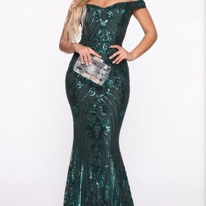 Show Up And Show Out Sequin Mermaid Gown
